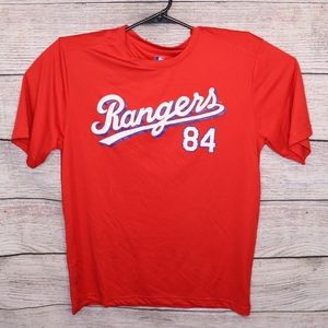 MLB Texas Rangers Fielder 84 Shirt Size L